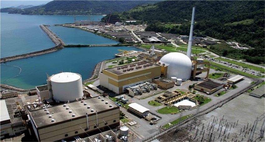 Resultado de imagem para central nuclear almirante álvaro alberto